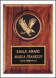 "5"" x 7"" Eagle Plaque TRO-P3168"