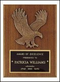 "6"" x 8"" Eagle Plaque TRO-P1784"
