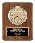 TRO-BC888 Walnut Wall Clock Award