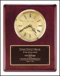 TRO-BC68 Rosewood Wall Clock Award