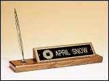 PS340 Desk Pen/Nameplate