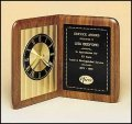 TRO-BC95 Walnut Book Clock