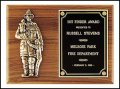 "9"" x 12"" Firematic award TRO-P7-X"