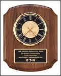 TRO-BC828 Walnut Wall Clock Award